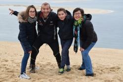 La Team'Z à la Dune du Pilat